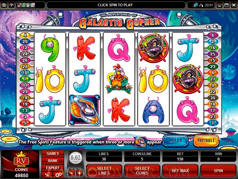 Spiele Gophers War - Video Slots Online