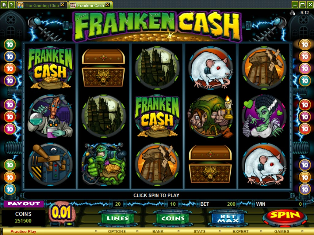 Fraken Cash Screenshot