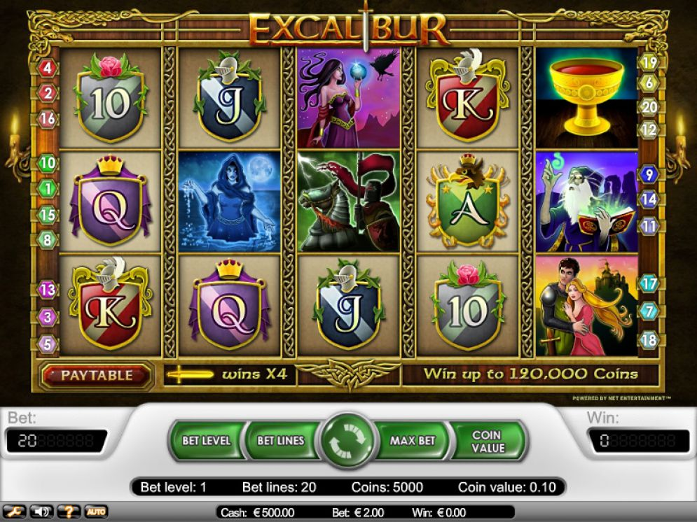 Excalibur Screenshot